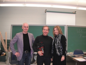 Motivational Speaker, Barry Shainbaum, was a guest speaker in our class and truly hit a home run! Congratulations!