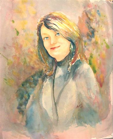 Portrait by International artist Marta Alvarez