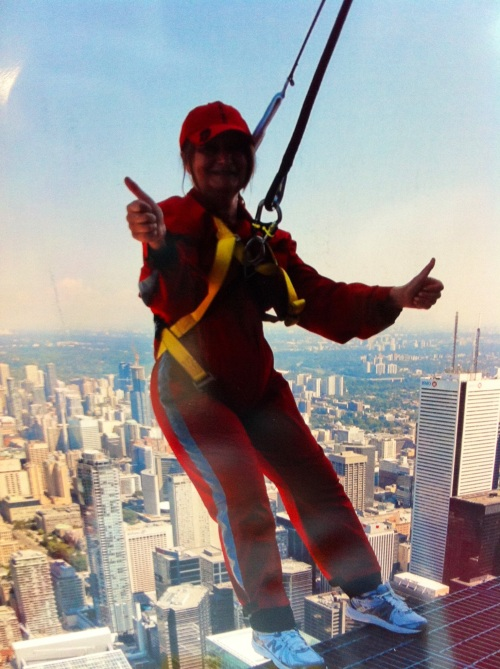 EdgeWalk--at the CN Tower--an amazing experience